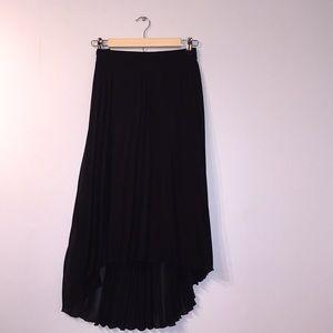 Fancy dance-y pleated skirt